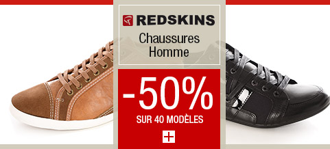 Chaussures REDSKINS 50%