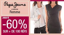 pepe jeans jusqu'à -60%