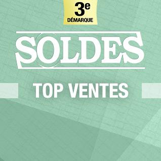 SOLDES top des ventes