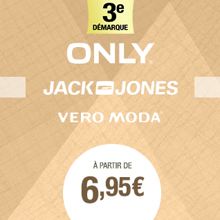 SOLDES JACK&JONES VEROMODA ONLY
