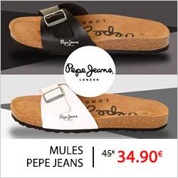 mule pepe jeans