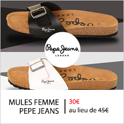 mules pepe jeans