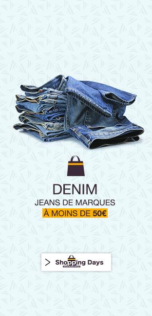 Jeans de Marque à - de 20 €