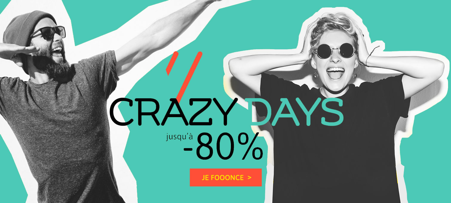 crazy days slide