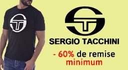 Sergio Tacchini -60% min
