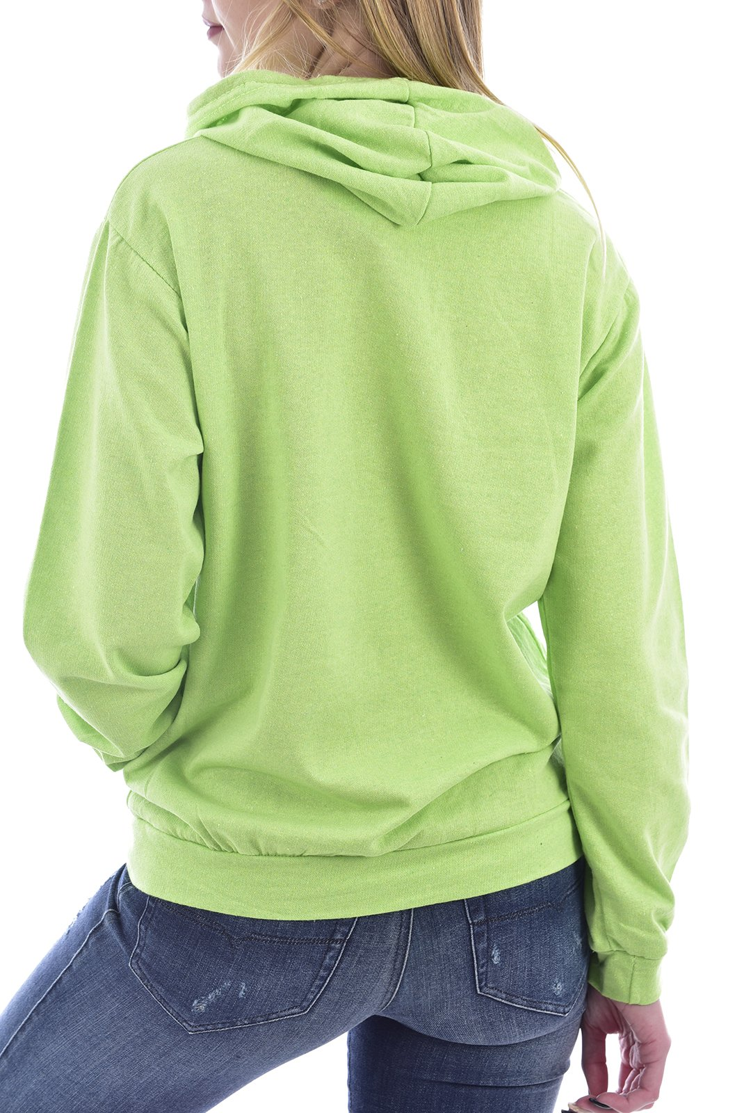 Sweat / sweat zippé  Goldenim paris 1130 VERT