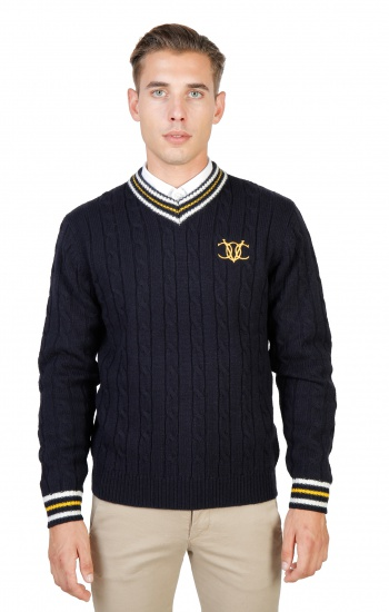 Soldes Oxford University: OXFORD_TRICOT-CRICKET