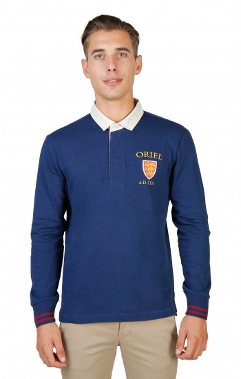 Polos  Oxford University ORIEL-POLO-ML blue