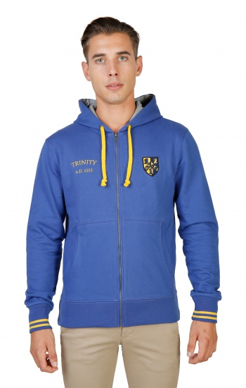 Sweatshirts  Oxford University TRINITY-HOODIE blue