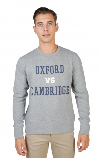 HOMME Oxford University: OXFORD-FLEECE-CREWNECK