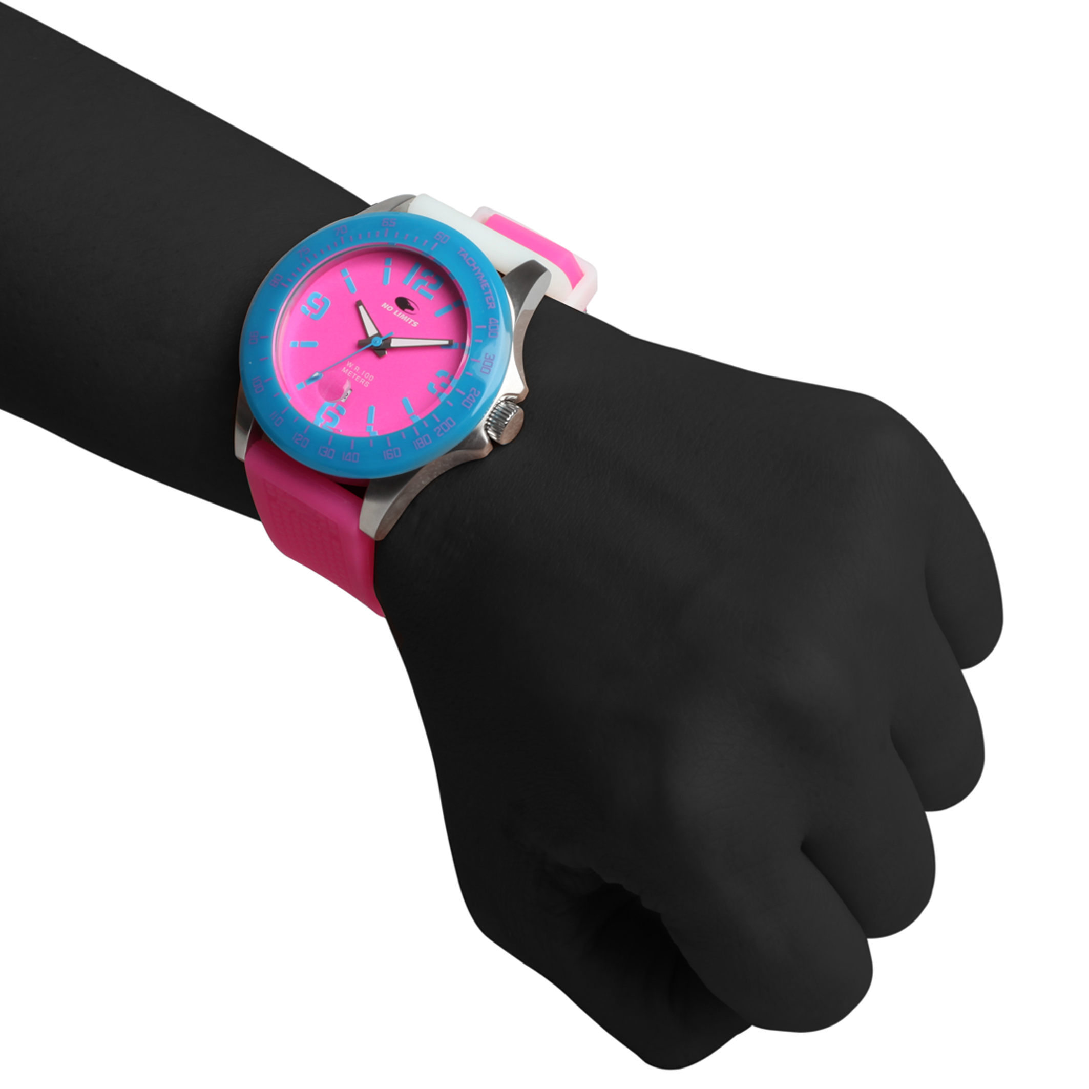 Accessoires   No Limits Orologio pink
