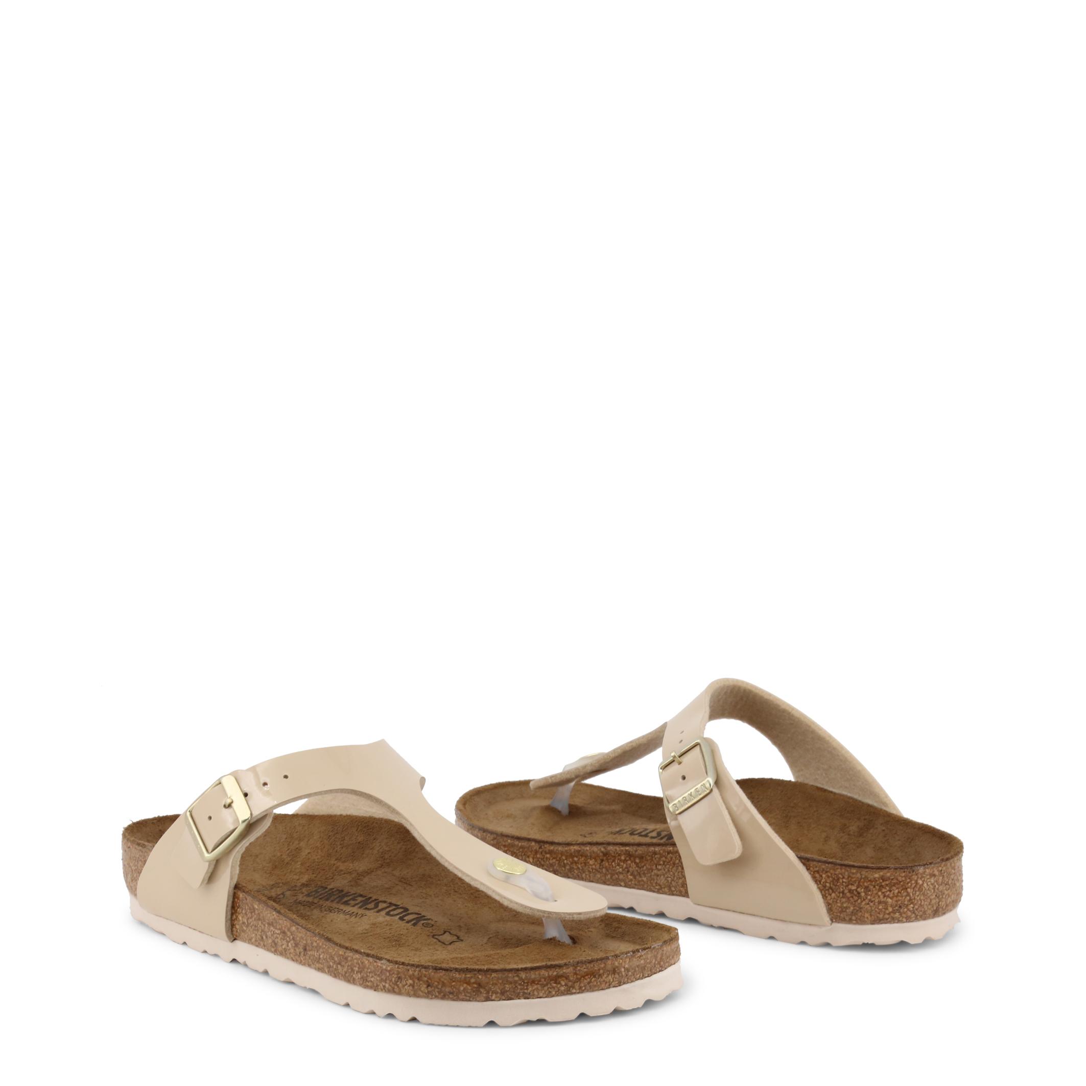 Tongs / Mules  Birkenstock GIZEH_BIRKO-FLOR-PATENT brown