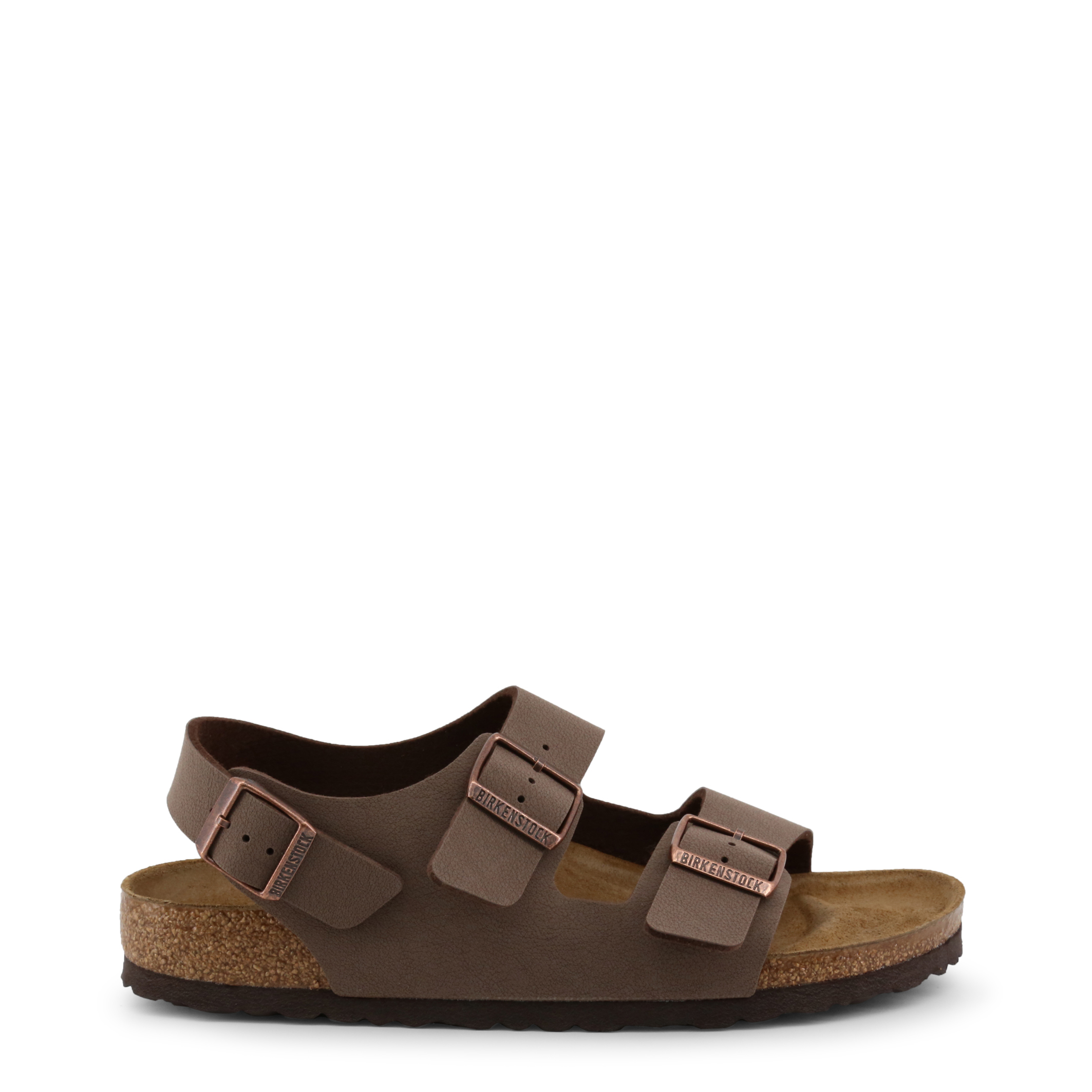 Tongs / Mules  Birkenstock MILANO brown