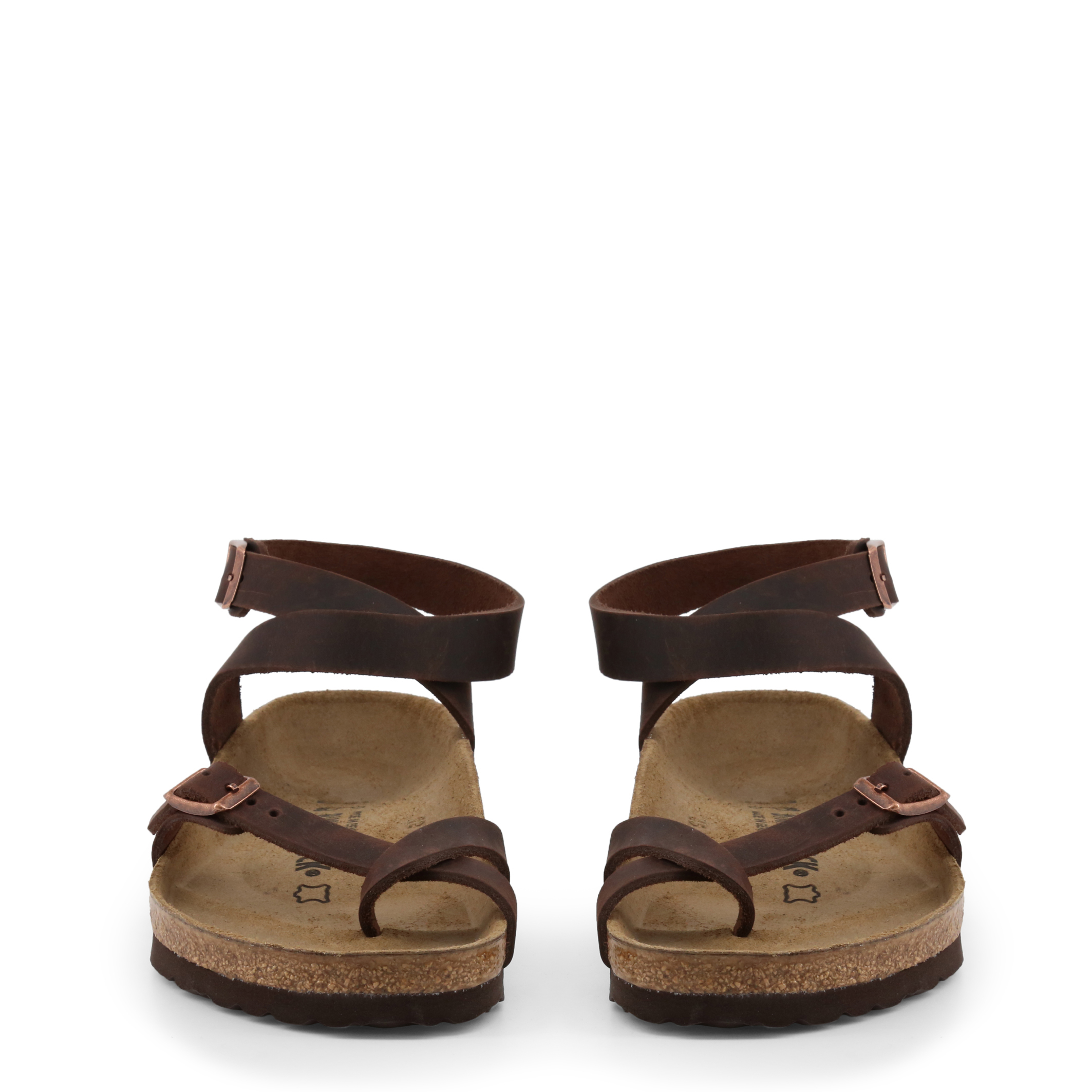 Tongs / Mules  Birkenstock YARA_OILED-LEATHER brown