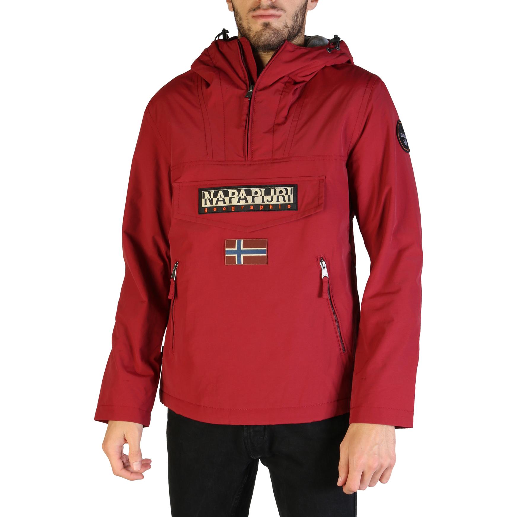 Blousons / doudounes  Napapijri RAINFOREST_N0YGNL red