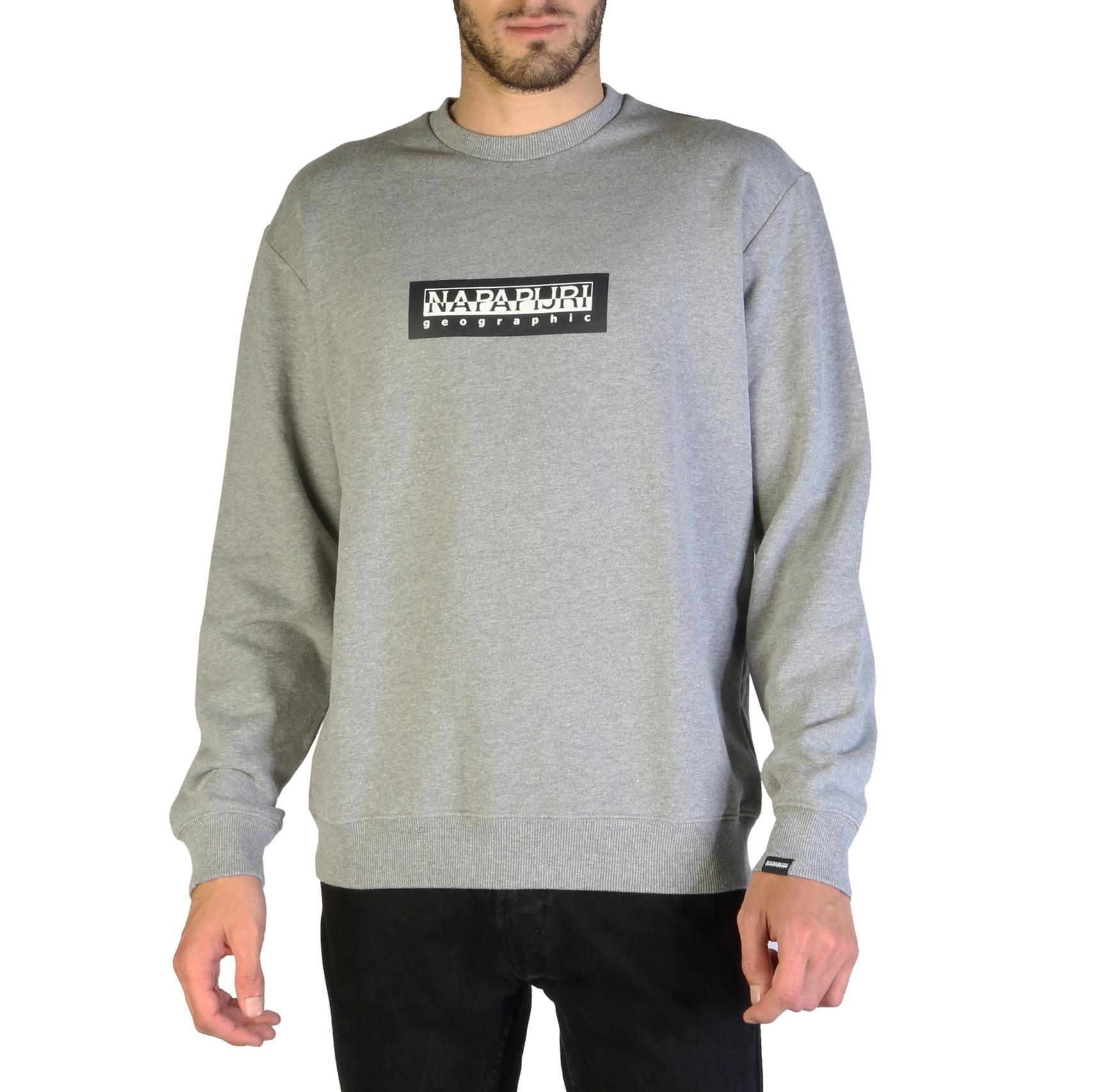 Sweatshirts  Napapijri BOX C_N0YKBU grey