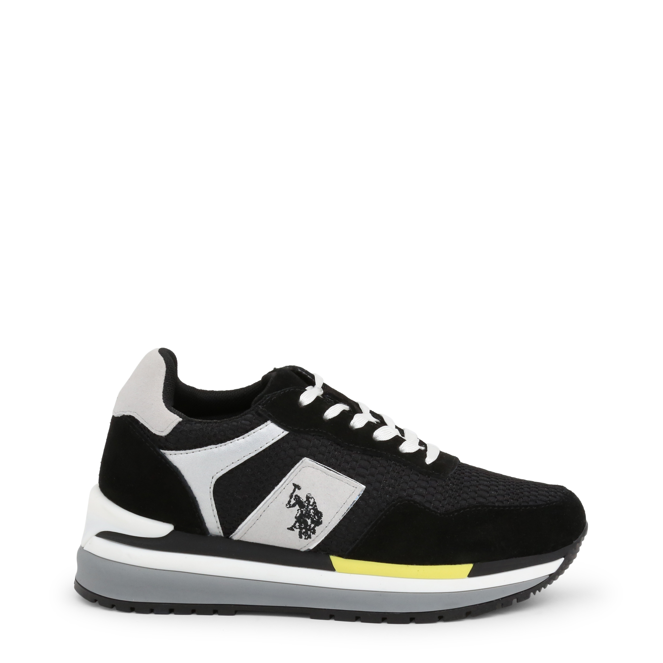 Baskets / Sneakers  U.S. Polo Assn. CHER4195S0_MS1_BLK-WHI black