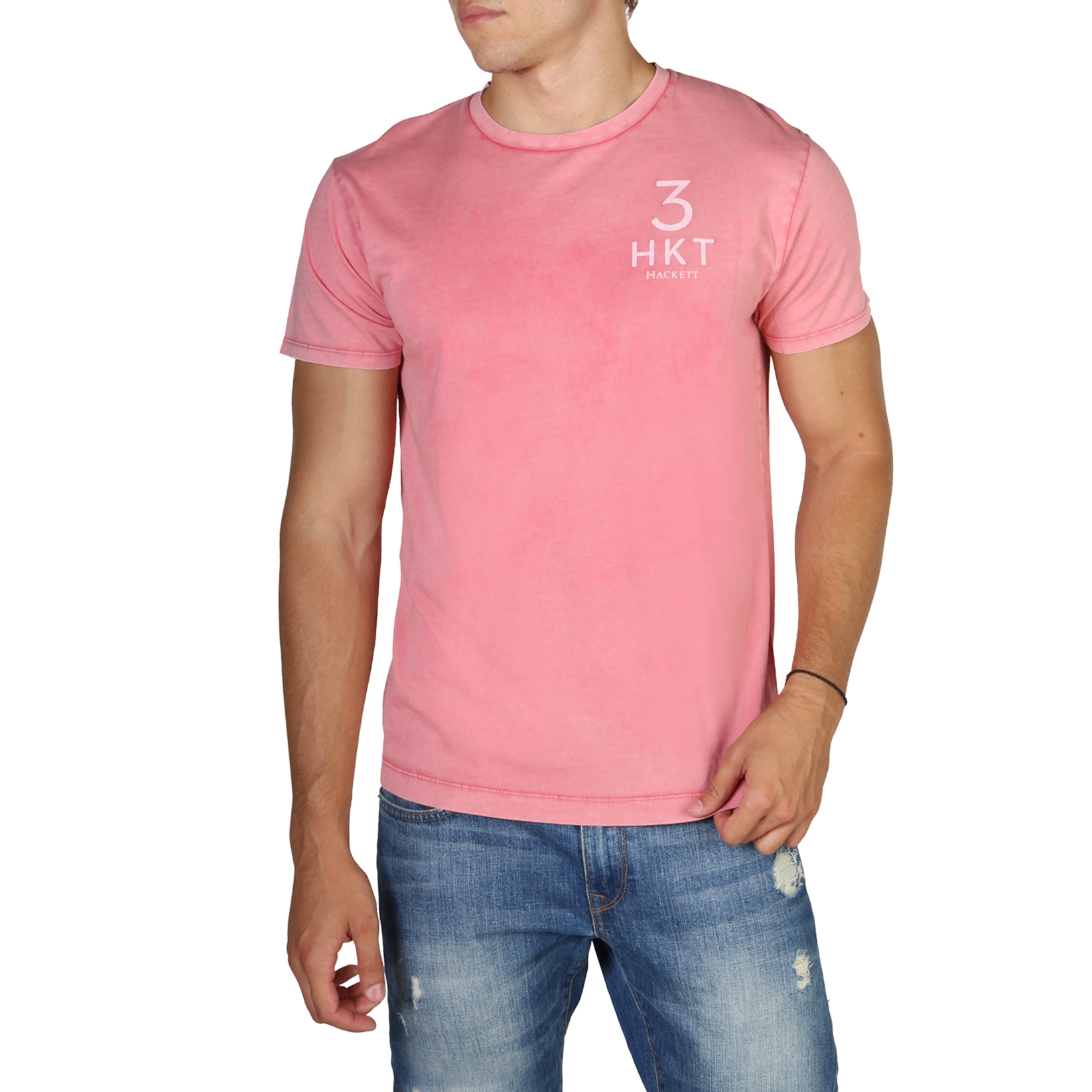 T-S manches courtes  Hackett HM500313_228 pink