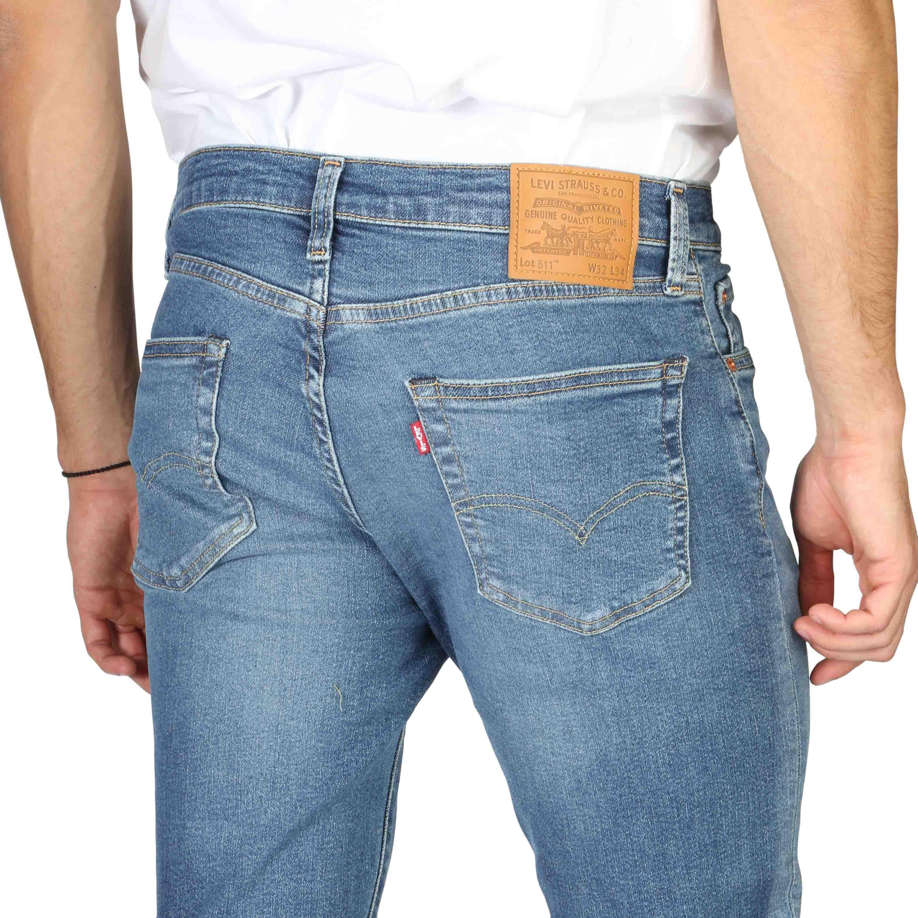 slim / skinny  Levis 04511-4307_L34 blue