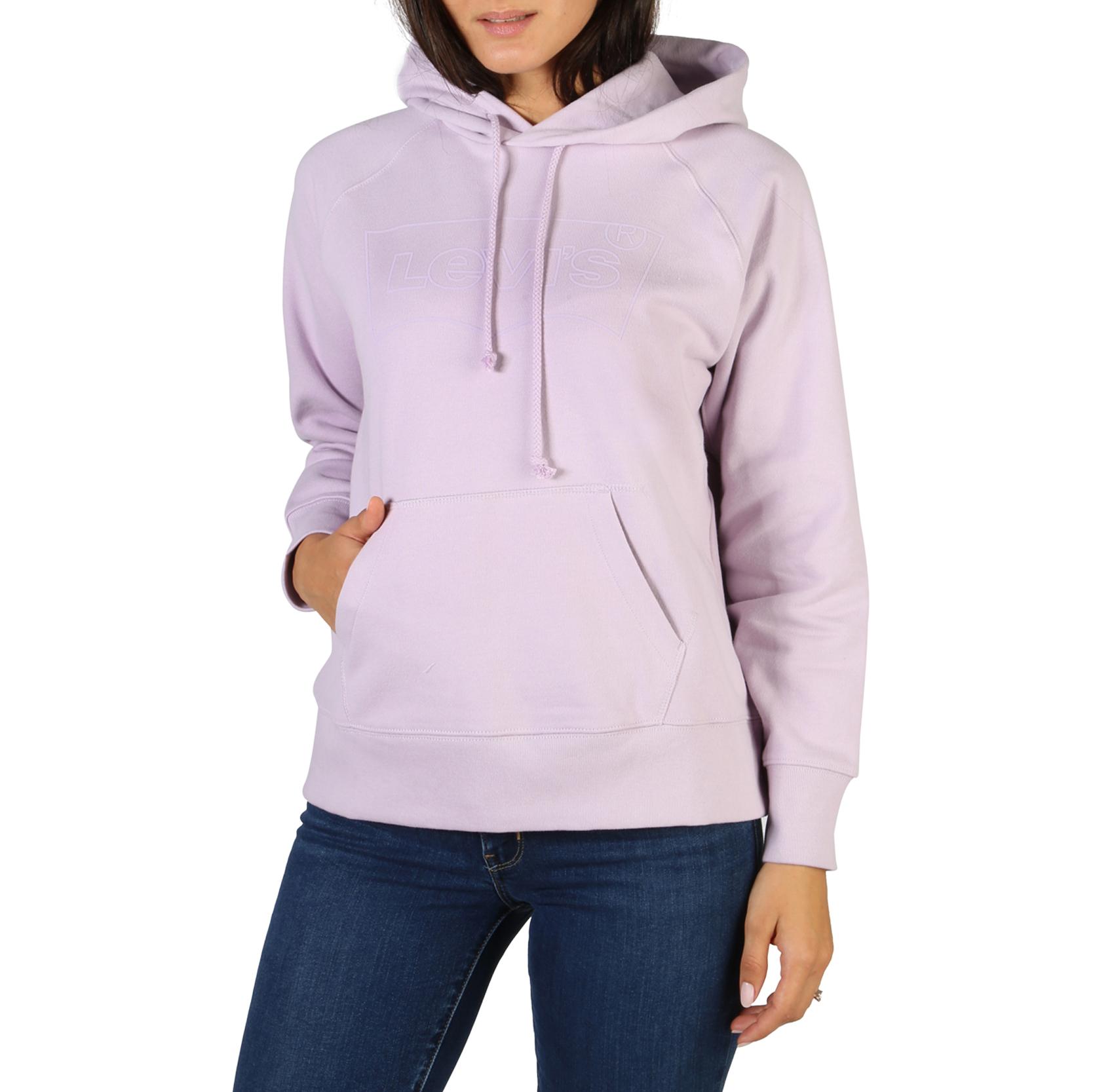 Sweat / sweat zippé  Levis 35946-0206_GRAPHIC-SPORT violet