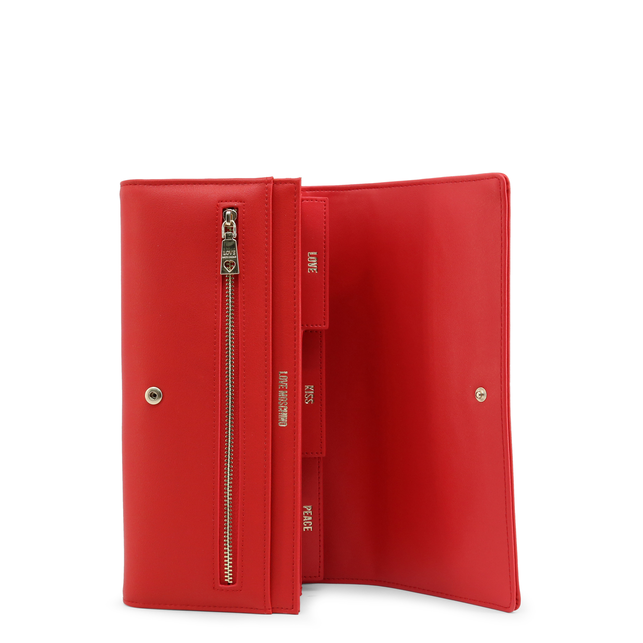 Portefeuilles / Porte-monnaie  Love moschino JC5612PP1BLE_0500 red