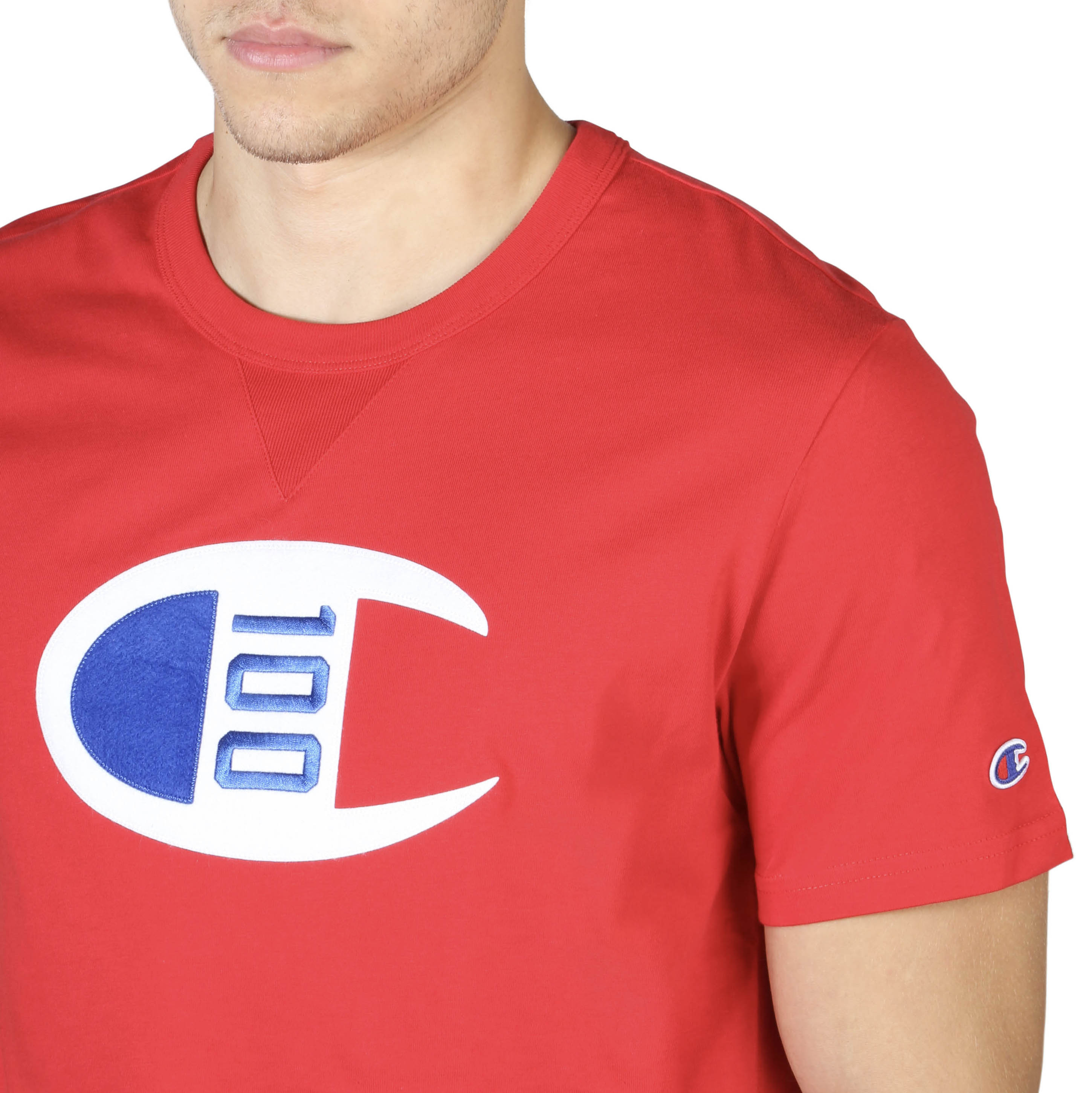 T-S manches courtes  Champion 214371_RS017_BYR red