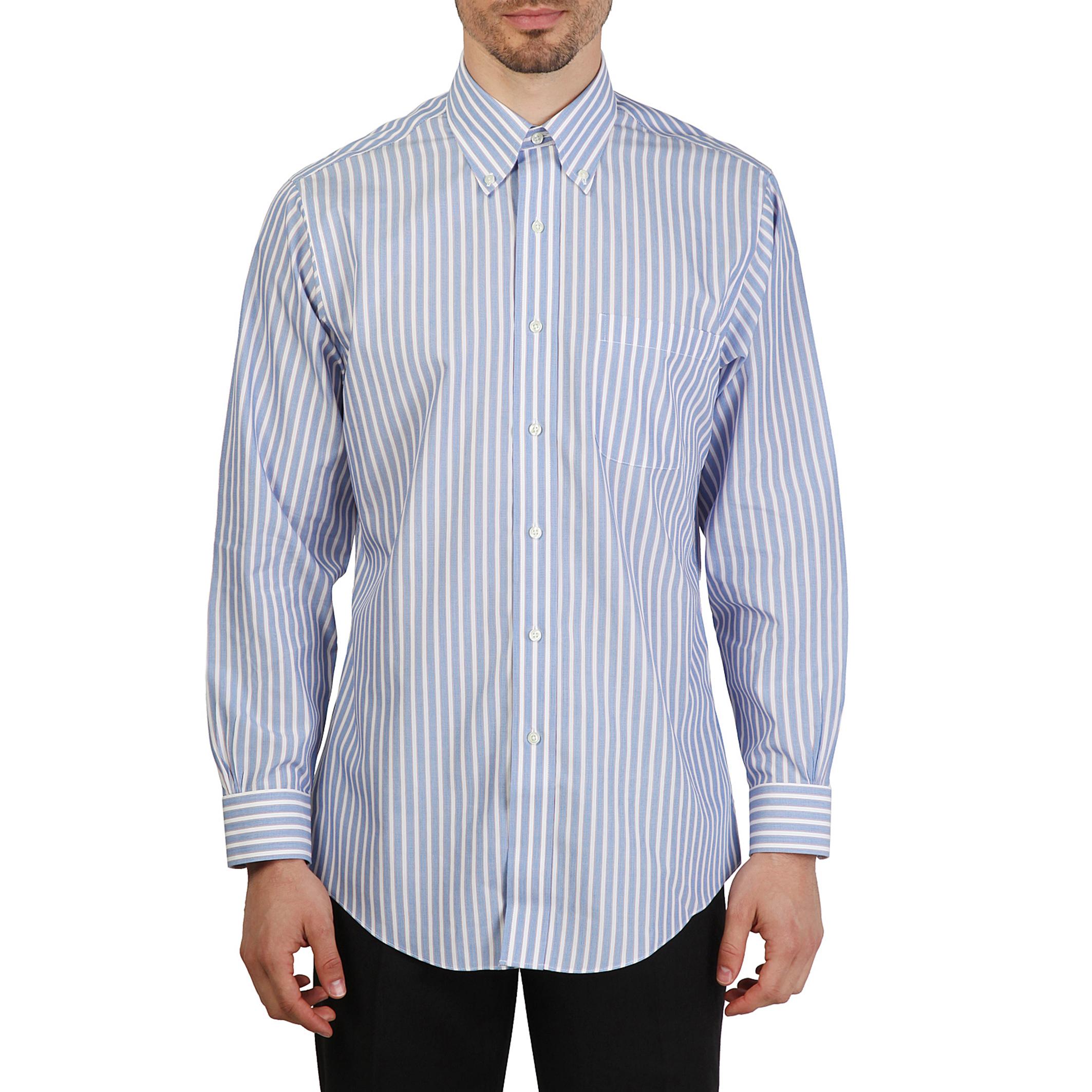 Chemises   Brooks Brothers 100040434 blue