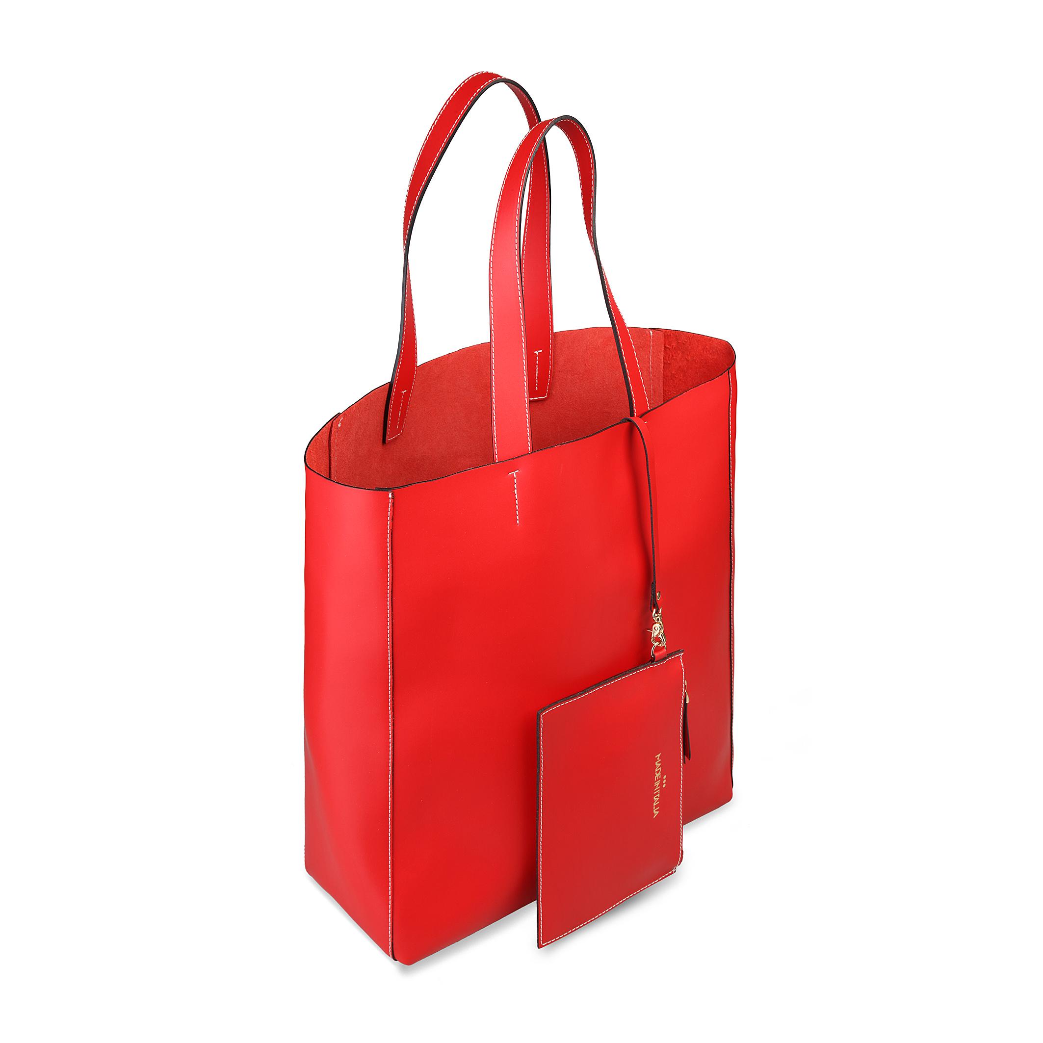 Cabas / Sacs shopping  Made in Italia FOSCA red
