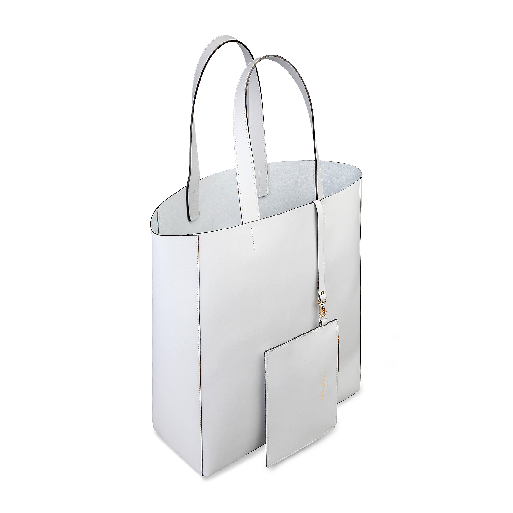 Cabas / Sacs shopping  Made in Italia FOSCA white