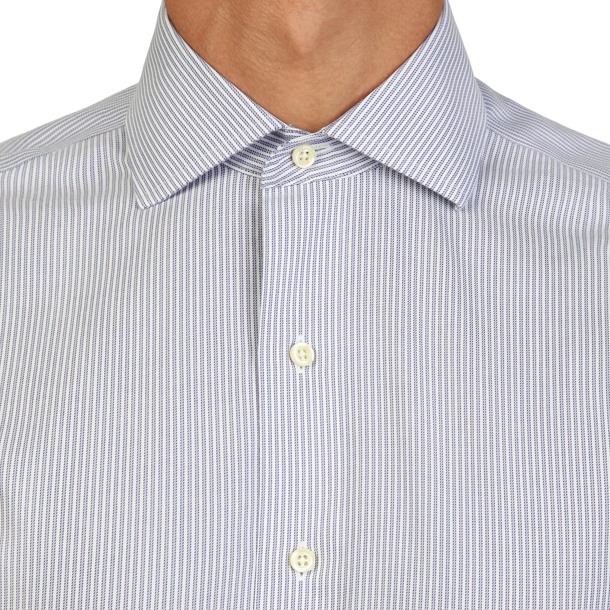 Chemises   Brooks Brothers 100040489 blue