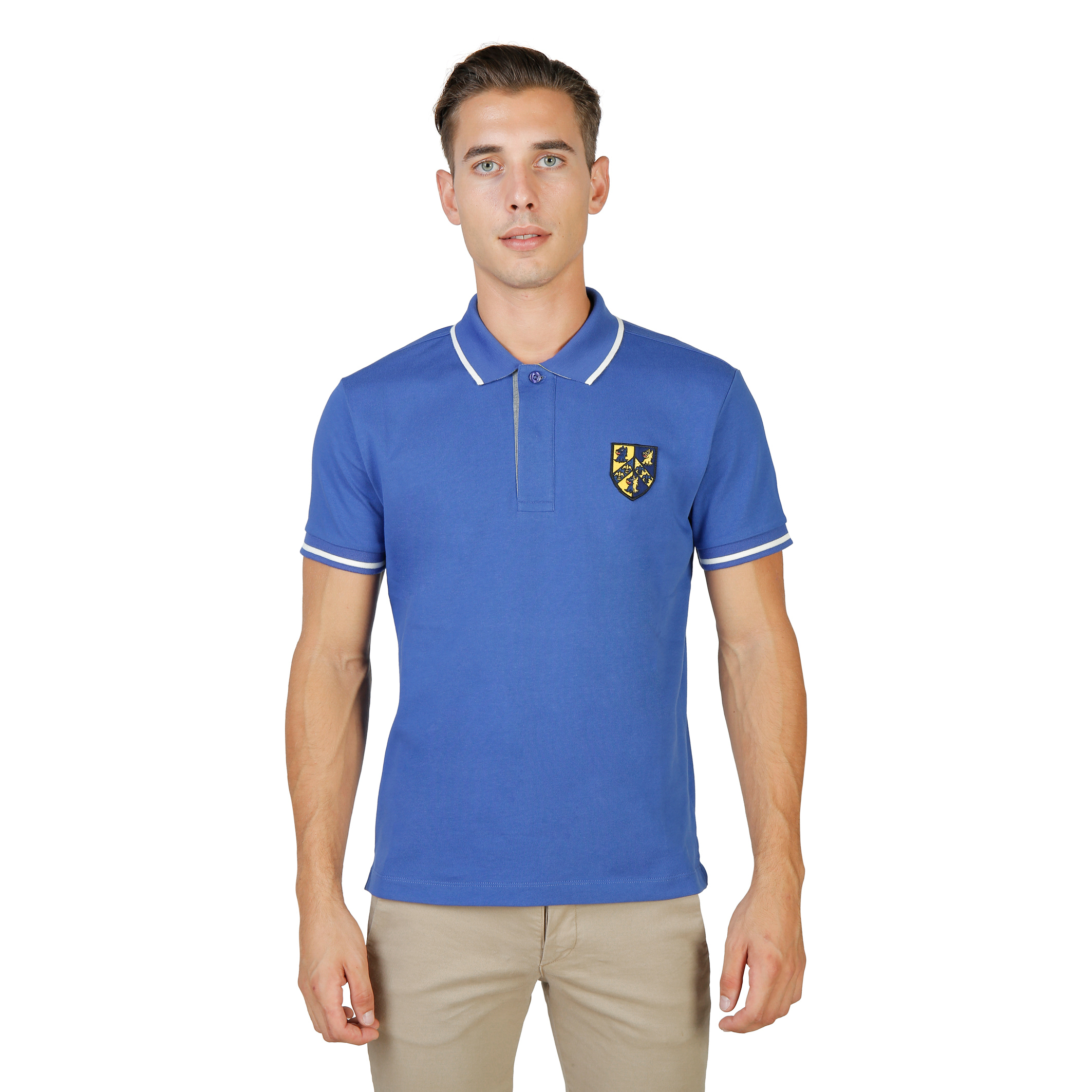 Polos  Oxford University TRINITY-POLO-MM blue