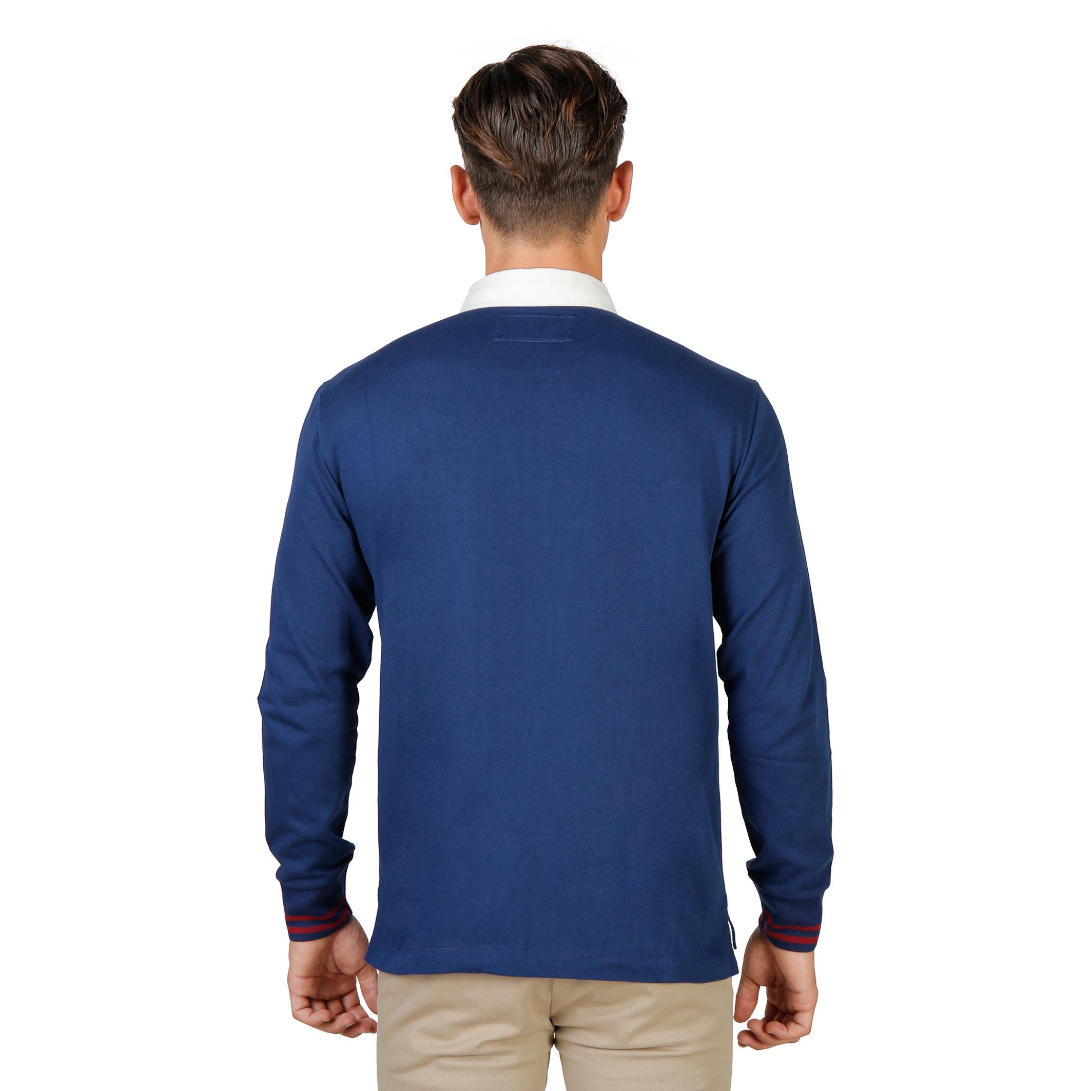 Polos  Oxford University ORIEL-POLO-ML blue