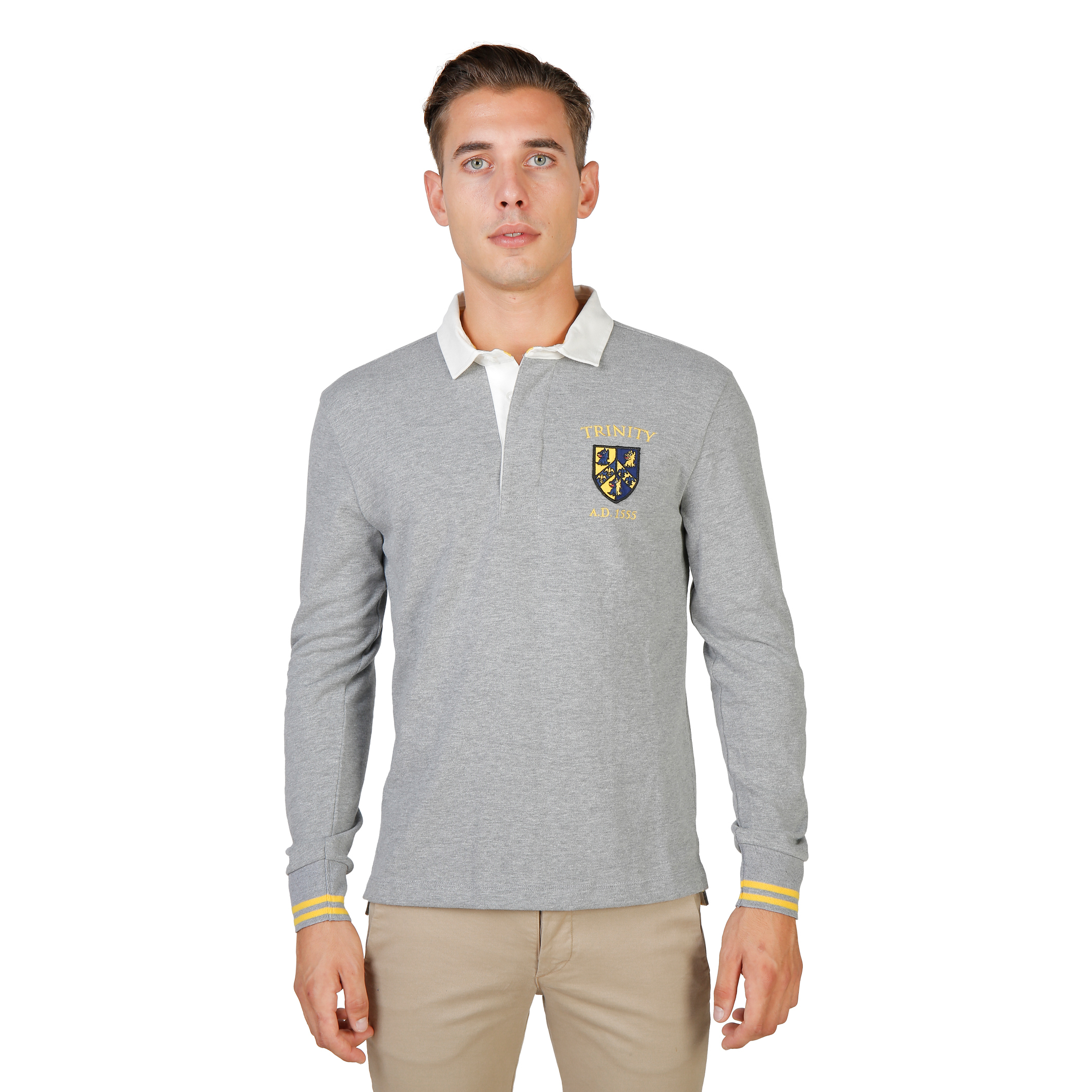 Polos  Oxford University TRINITY-POLO-ML grey