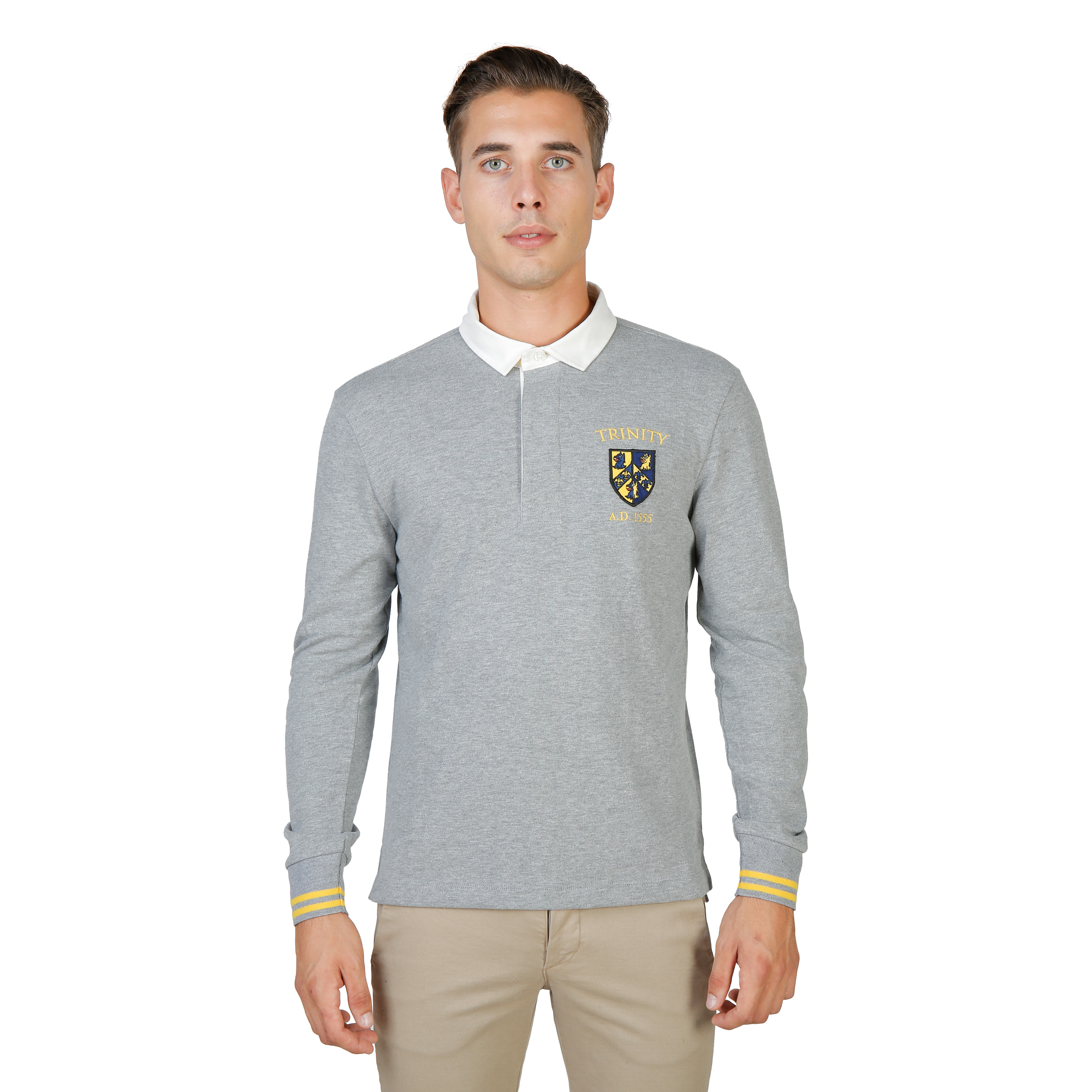 Polos  Oxford University TRINITY-POLO-ML grey
