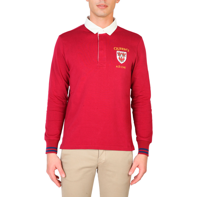 Polos  Oxford University QUEENS-POLO-ML red