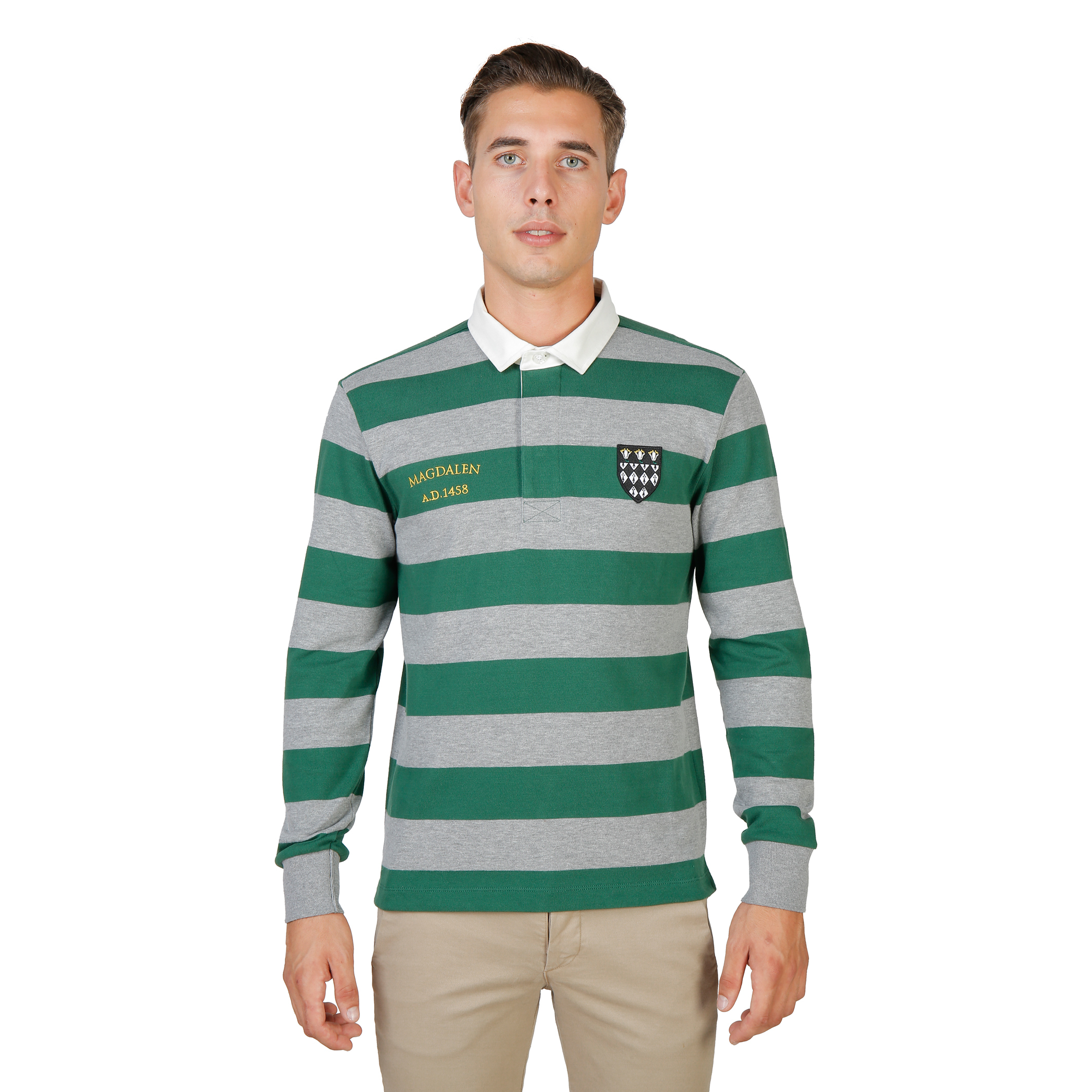 Polos  Oxford University MAGDALEN-RUGBY-ML green