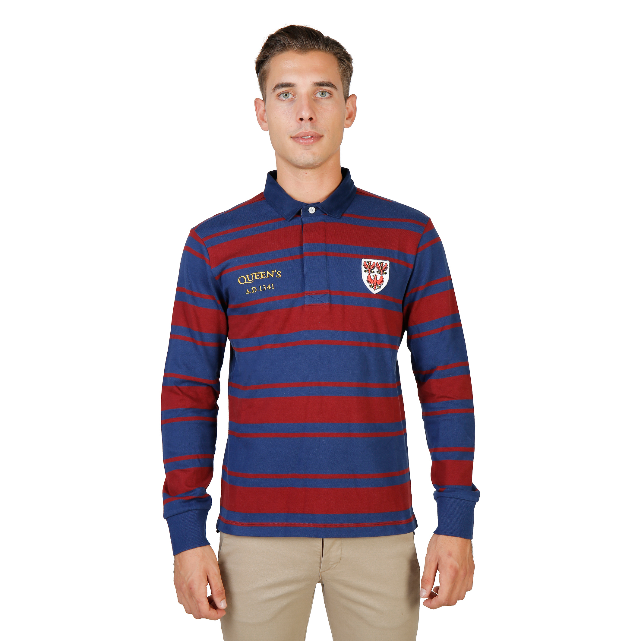 Polos  Oxford University QUEENS-RUGBY-ML red