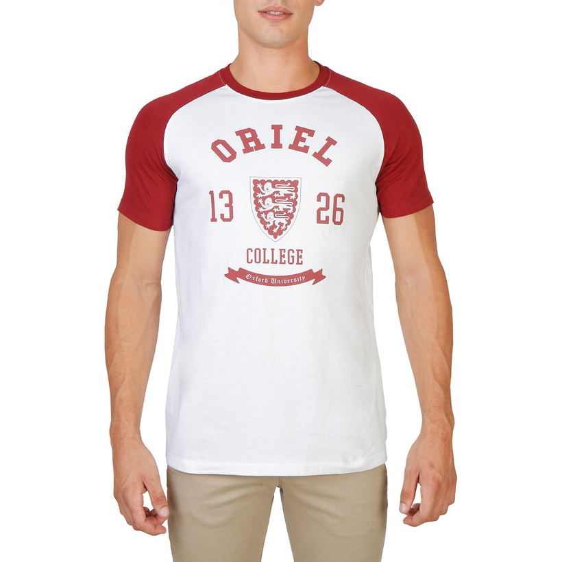 Tee-shirts  Oxford University ORIEL-RAGLAN-MM red