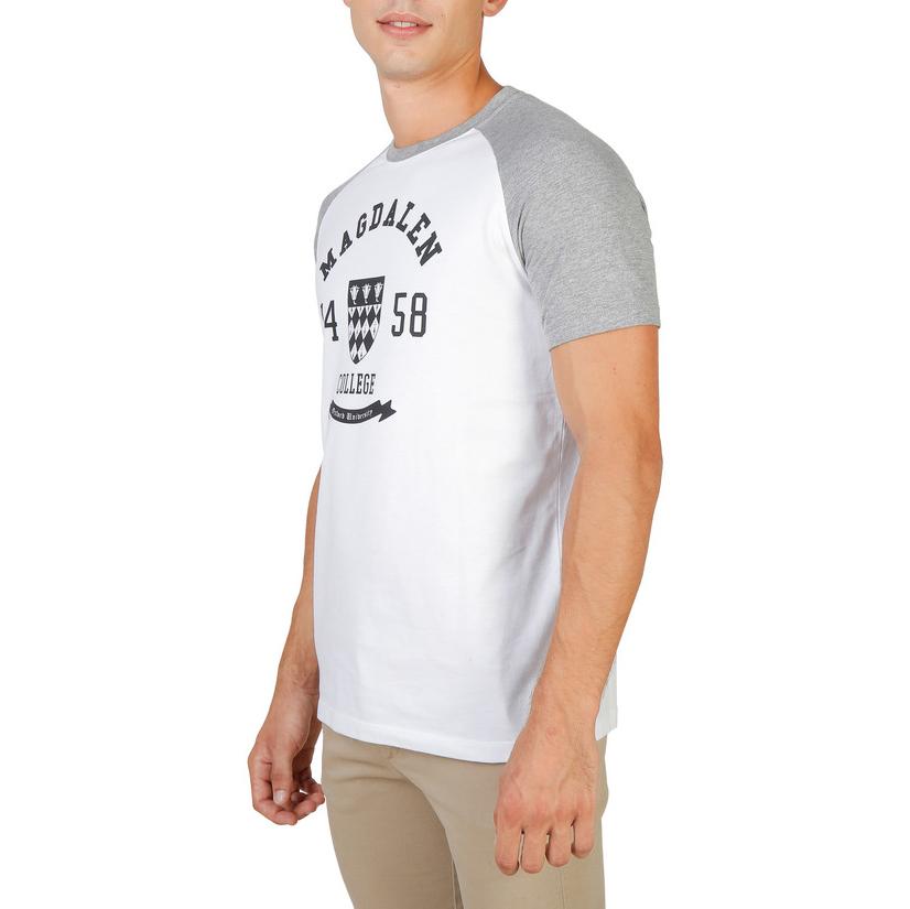 Tee-shirts  Oxford University MAGDALEN-RAGLAN-MM grey