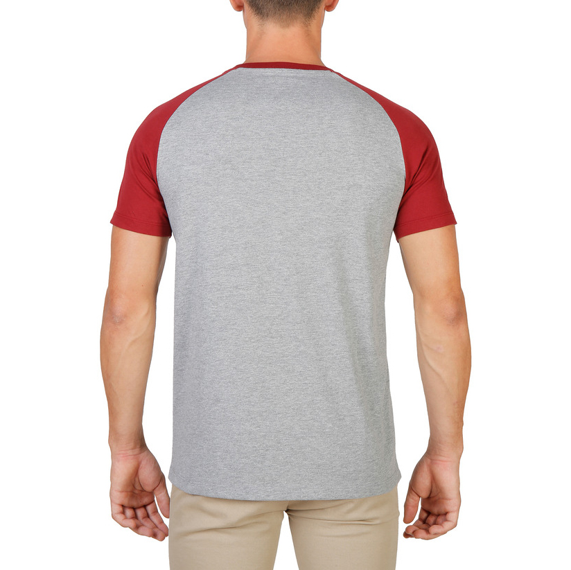 Tee-shirts  Oxford University QUEENS-RAGLAN-MM red