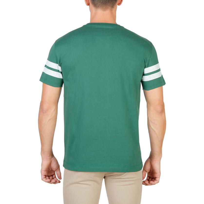 Tee-shirts  Oxford University MAGDALEN-STRIPED-MM green