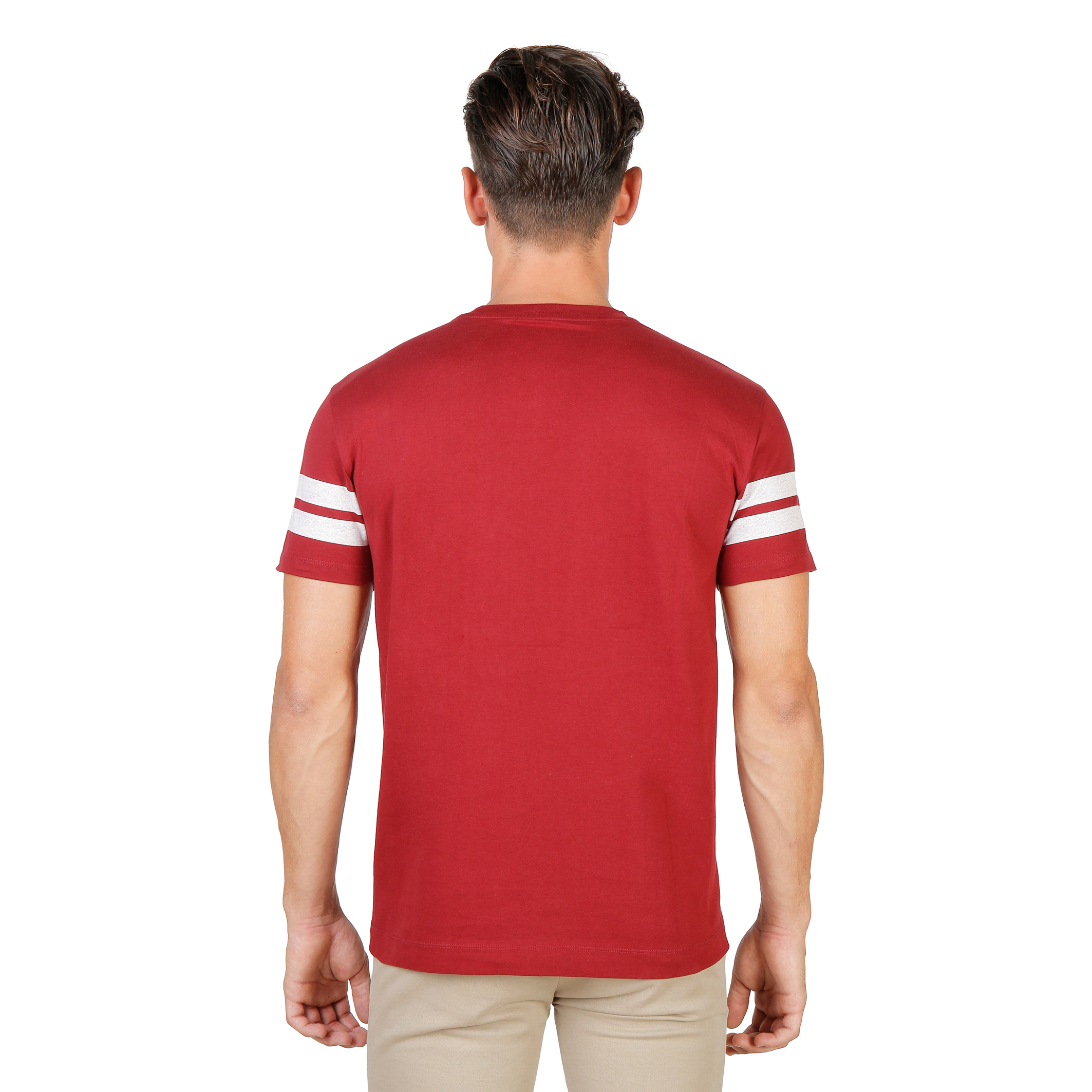 Tee-shirts  Oxford University QUEENS-STRIPED-MM red