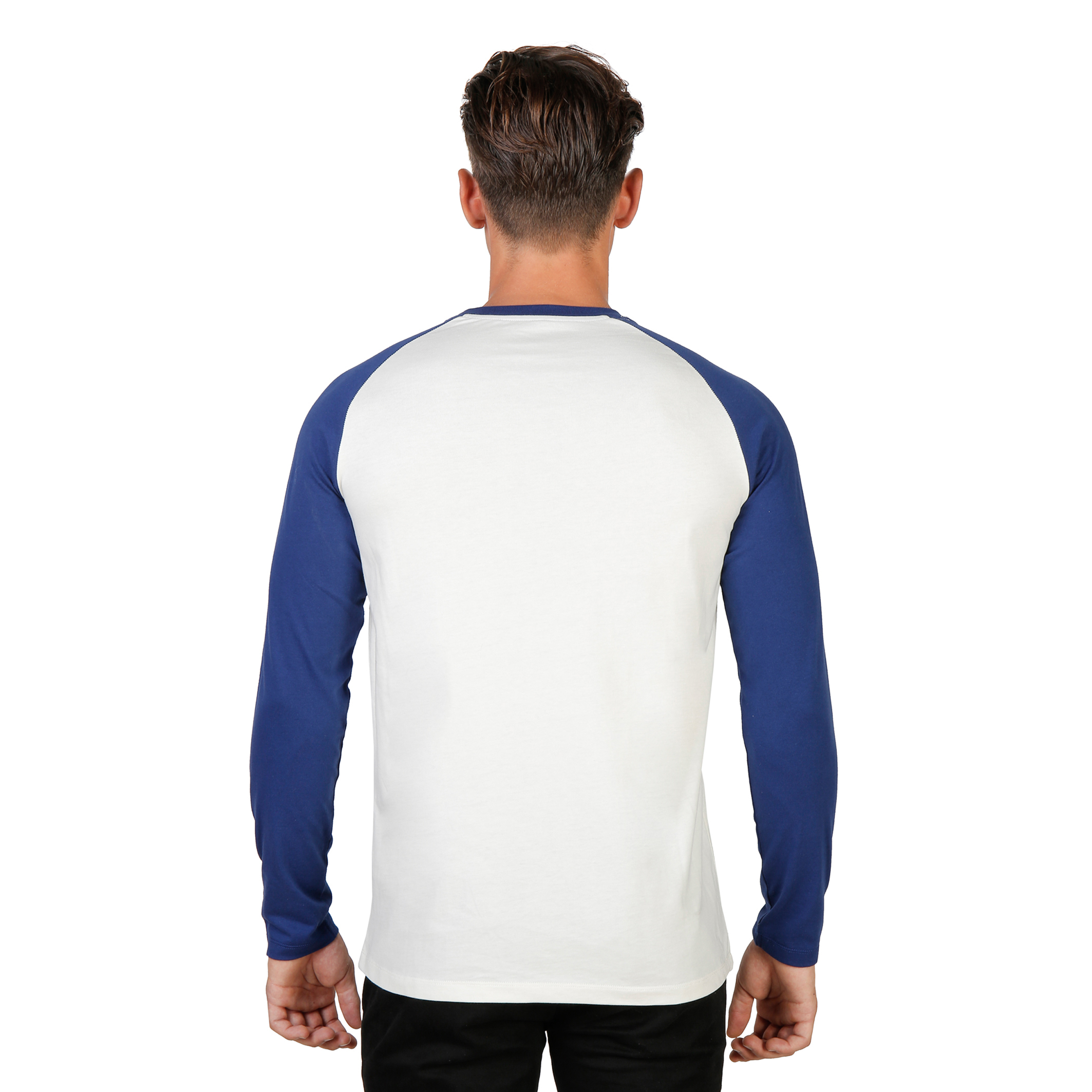 Tee-shirts  Oxford University ORIEL-RAGLAN-ML blue