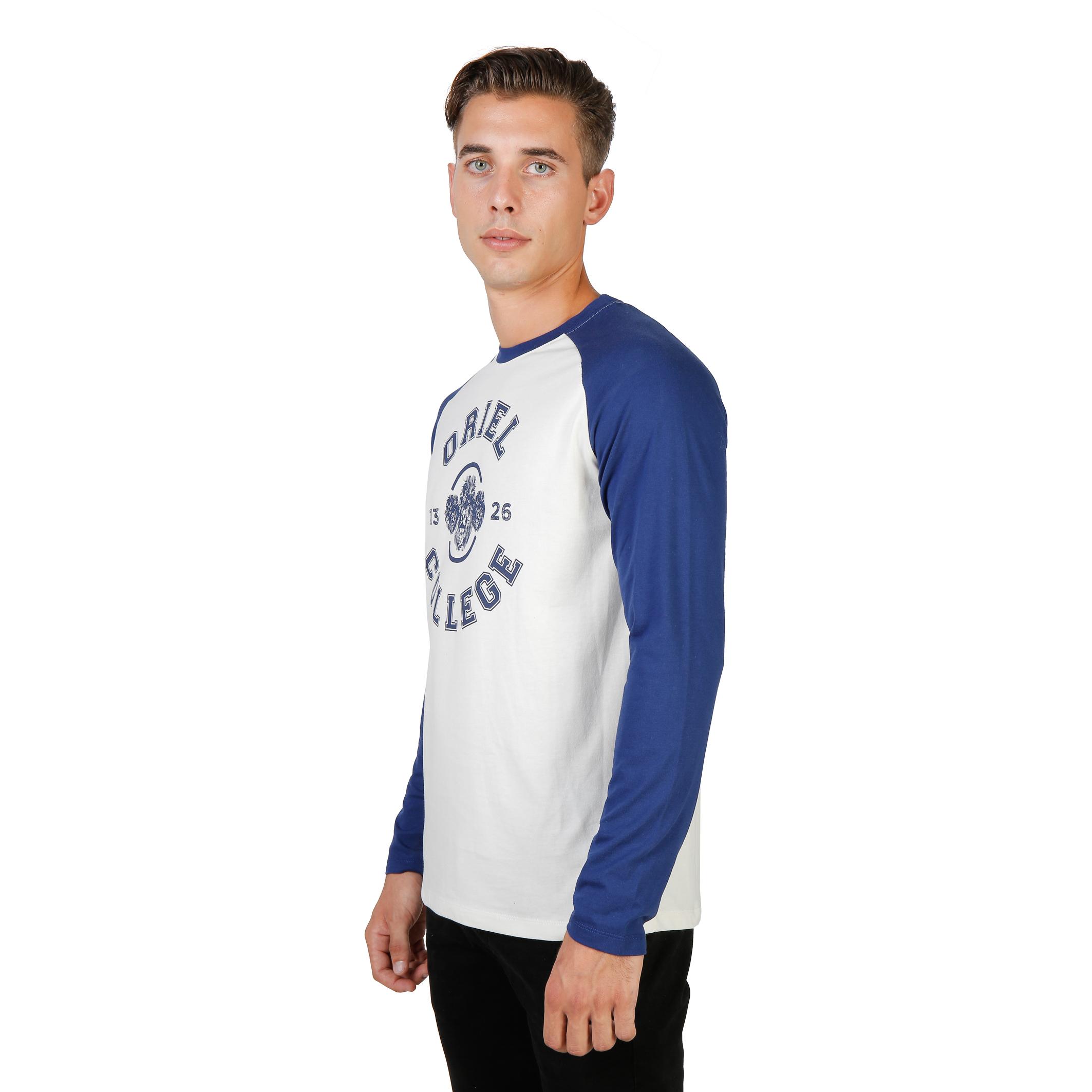 Tee-shirts  Oxford University ORIEL-RAGLAN-ML blue