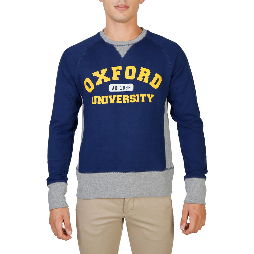 Pulls & Gilets  Oxford University OXFORD-FLEECE-RAGLAN blue