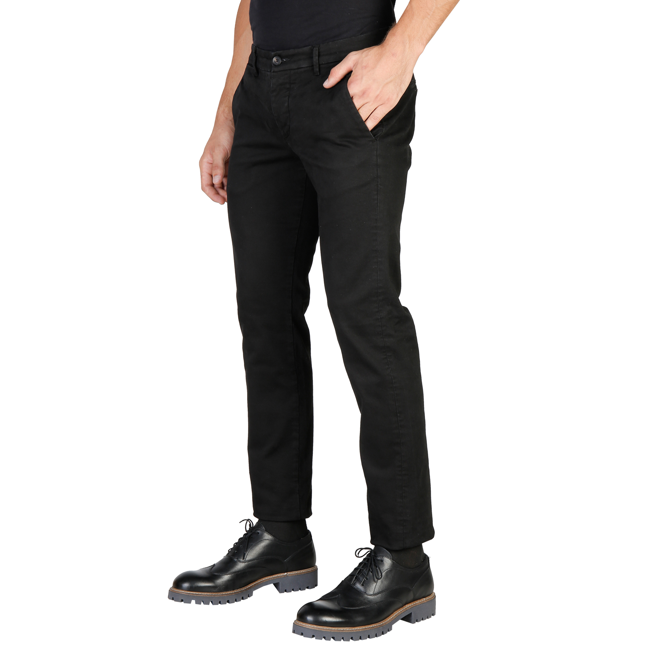 Pantalons  Oxford University OXFORD_PANT-REGULAR black