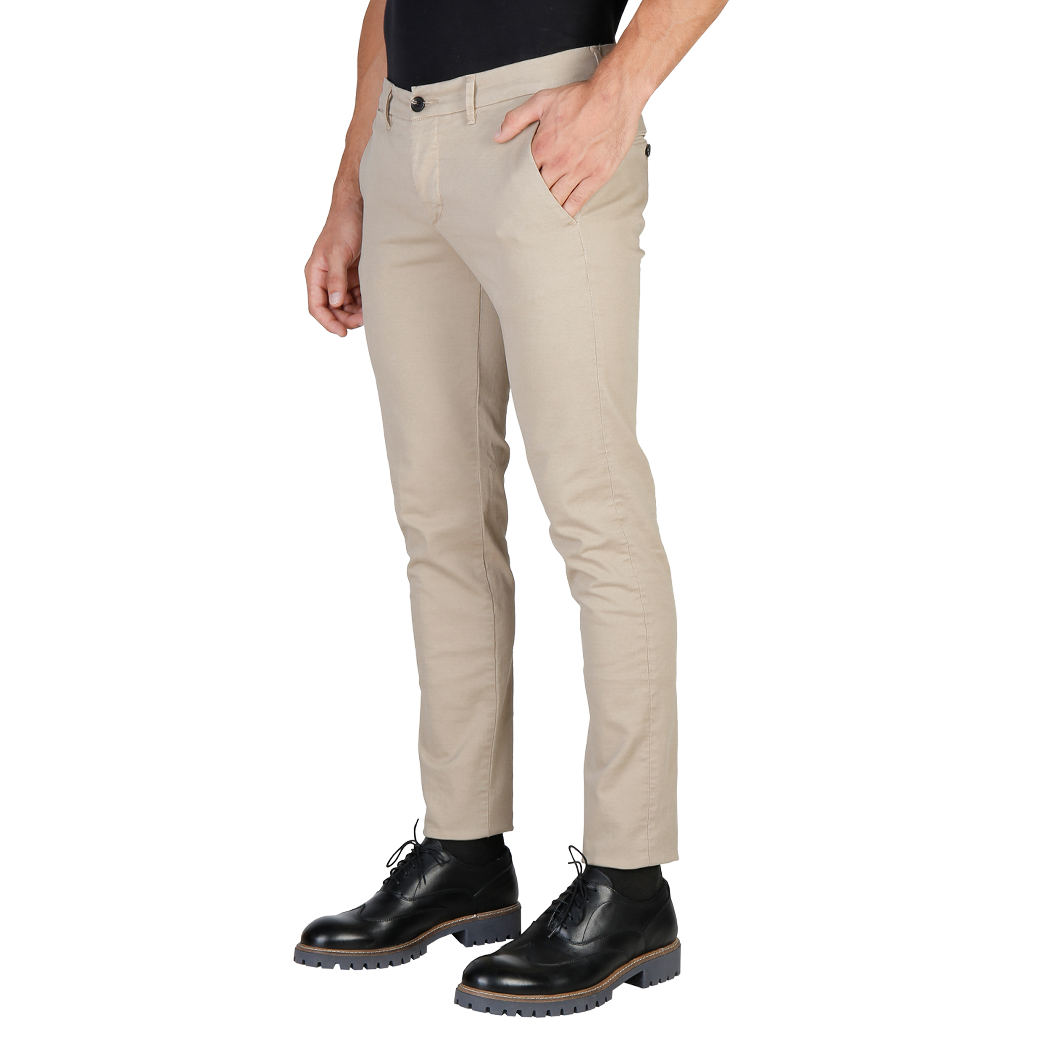 Pantalons  Oxford University OXFORD_PANT-REGULAR brown