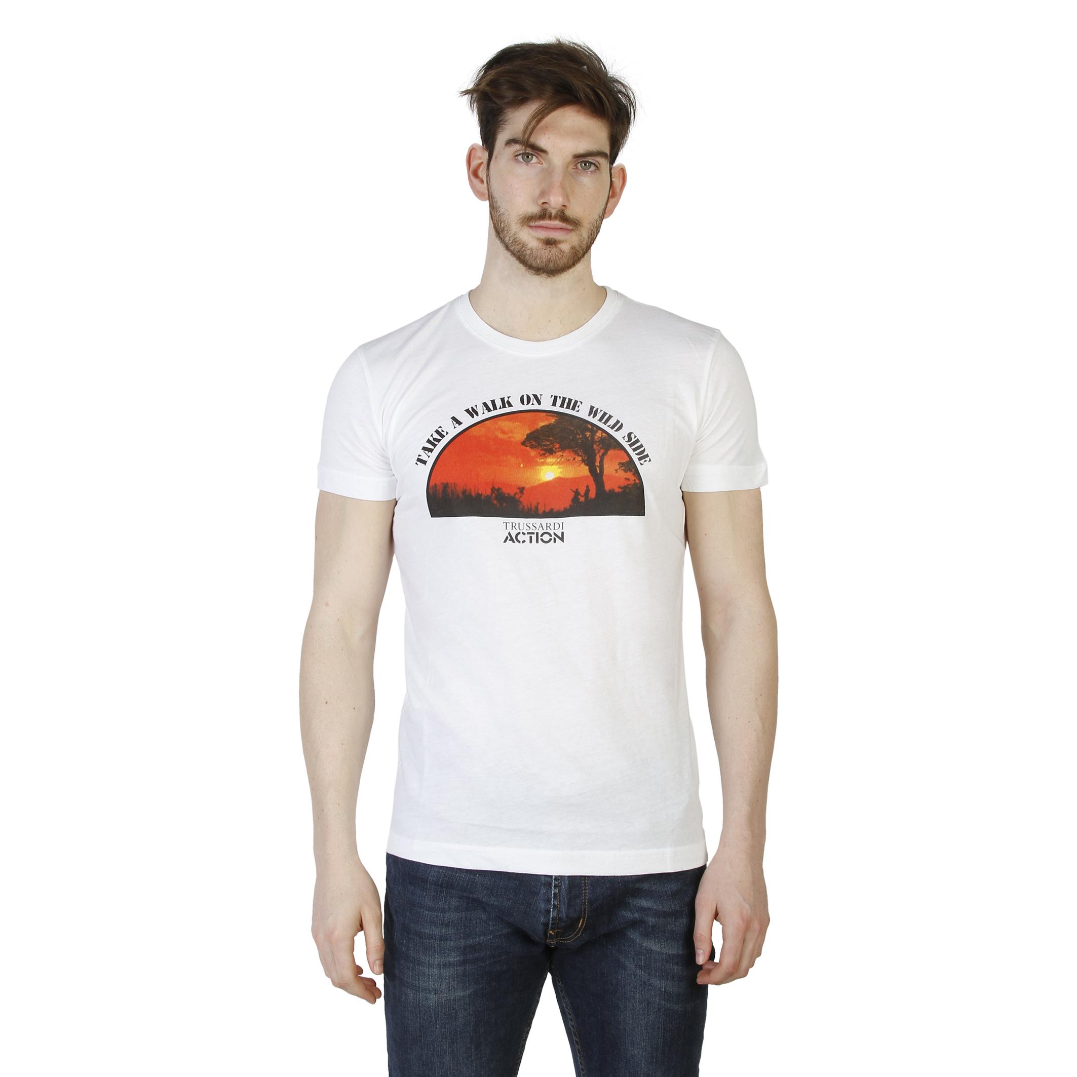 Tee-shirts  Trussardi 2AT03B white