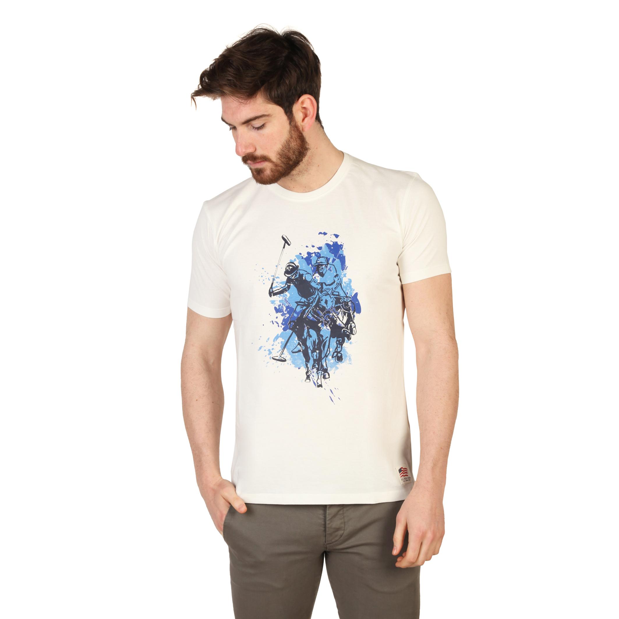 Tee-shirts  U.S. Polo 43693_49351 white