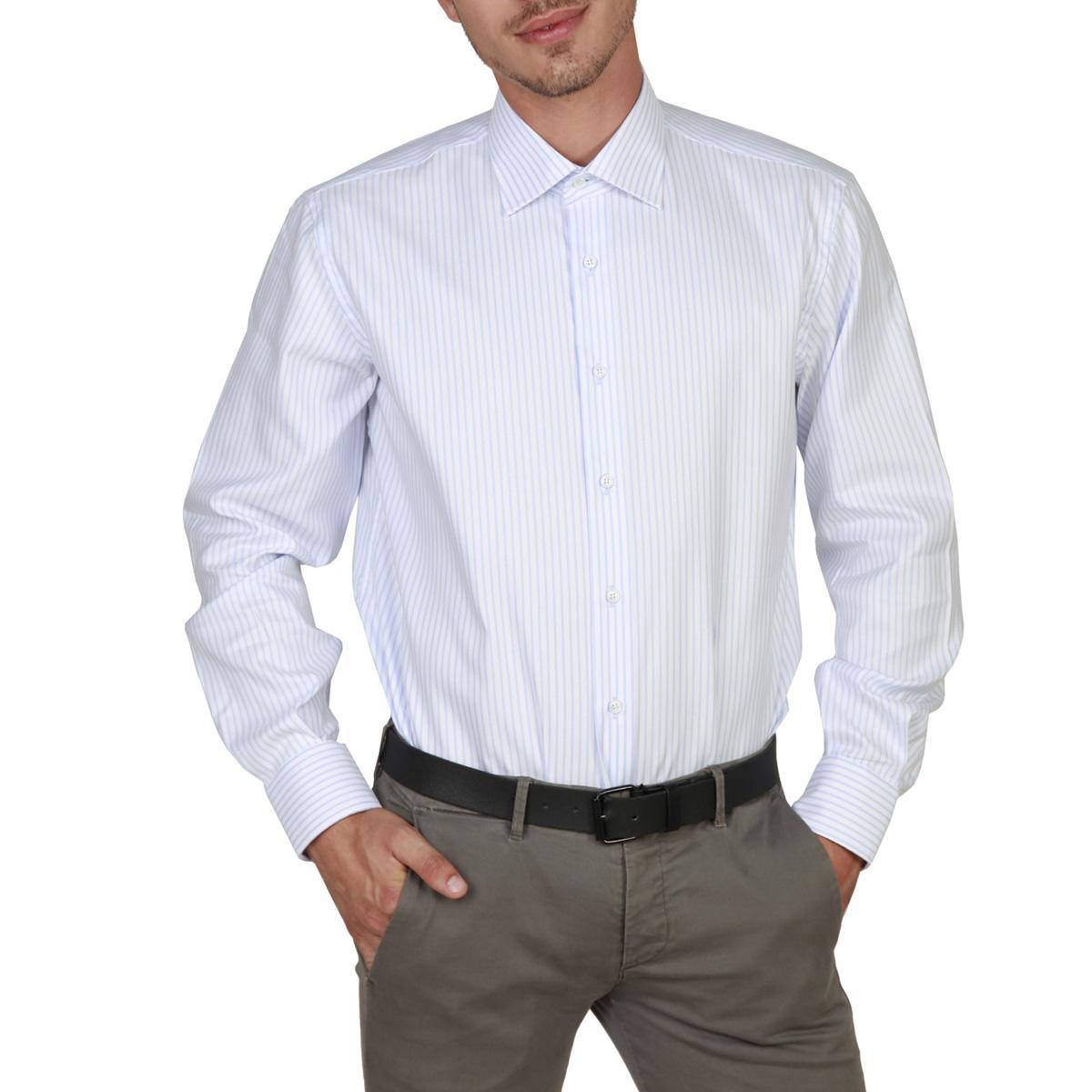 Chemises manches longues  Trussardi 32C03RINT blue